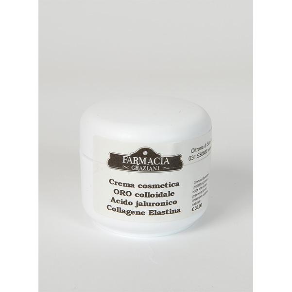 Crema cosmetica ORO coll. Acido Jaluronico