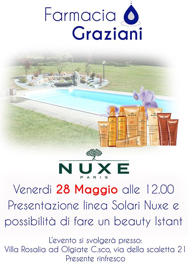 28 maggio evento Nuxe