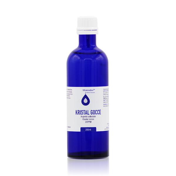 Argento Colloidale Kristal Blu Gocce 200 ml