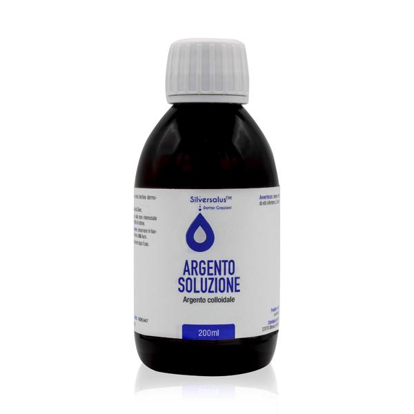 Argento Colloidale Soluzione 200 ml