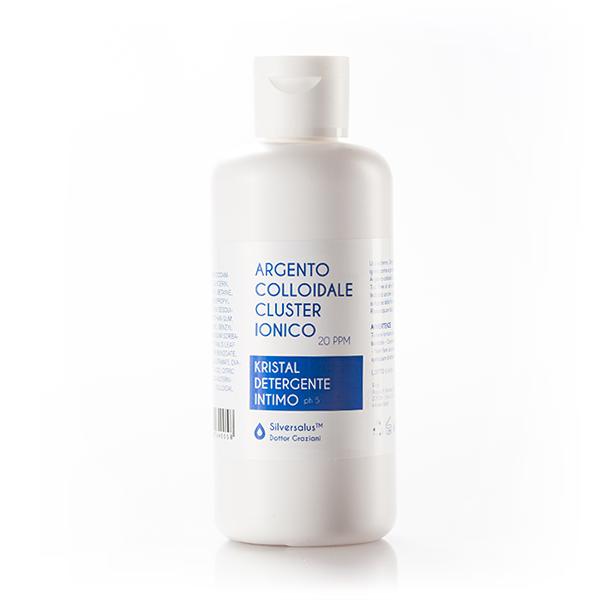 Kristal Argento Colloidale detergente intimo 250 ml