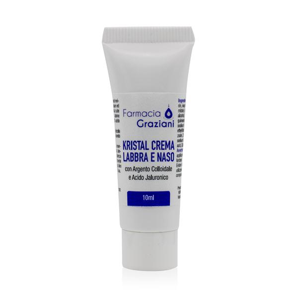 Kristal Argento Colloidale Crema Labbra Naso